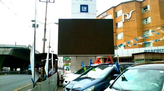 pantalla led para exteriores