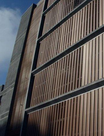 fachadas con control solar