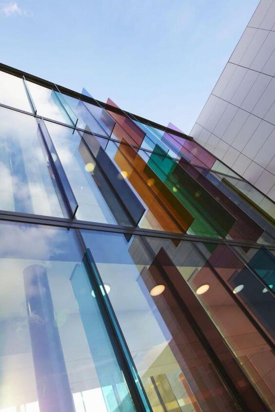 ventas de vidrio de colores