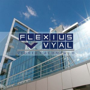 vidrio y aluminio flexius